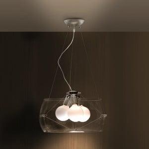 Stropné svetlo Fero, transparentné