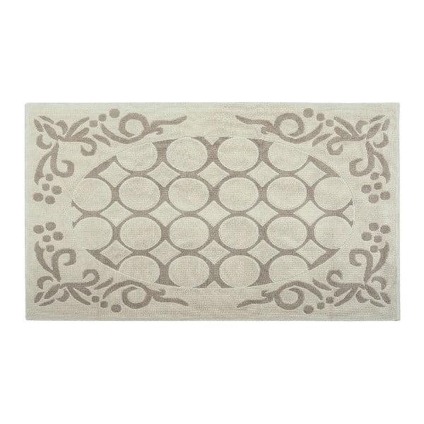 Bavlnený koberec Mirao 80x300 cm, krémový
