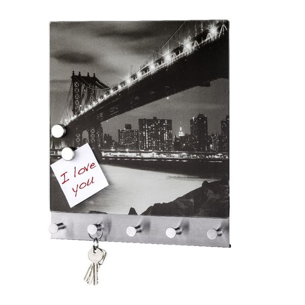 Magnetický vešiak na kabáty Wenko Manhattan Bridge