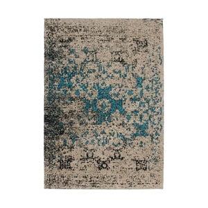 Béžovo-modrý koberec Kayoom Autumn Beige, 80x150cm