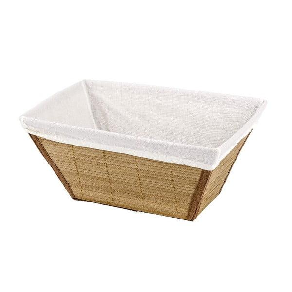 Prírodný košík Wenko Bamboo, 21x31cm