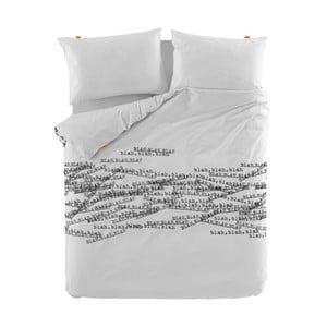 Bavlnená obliečka na perinu Blanc Talking, 200×200 cm
