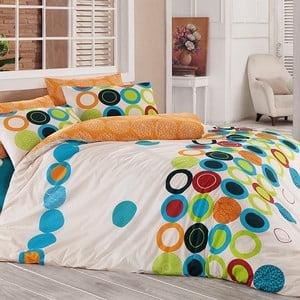 Obliečky s plachtou na dvojlôžko Benetton Happy, 200 x 220 cm