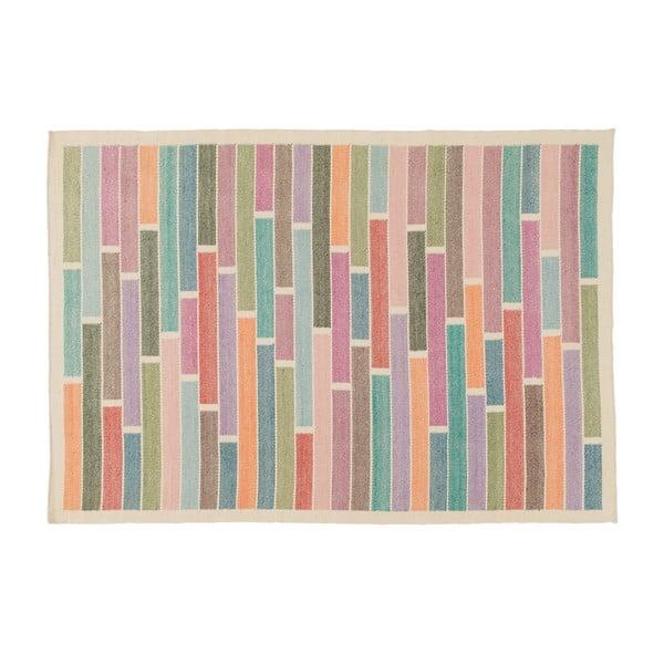 Vlnený koberec Rubina White, 140x200 cm