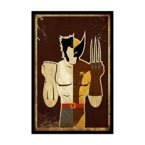 Plagát  Brown Hero, 35x30 cm