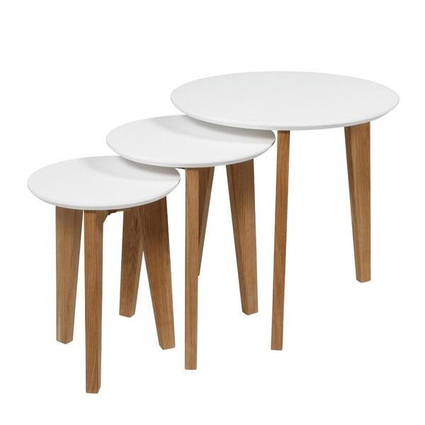 Sada 3 kávových stolíkov Abin