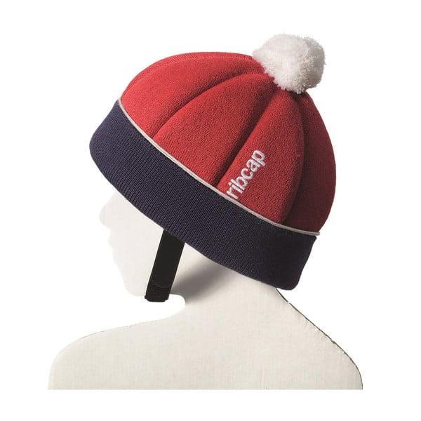 Detská čiapka s ochrannými prvkami Ribcap Freddie Red, veľ. Maxi