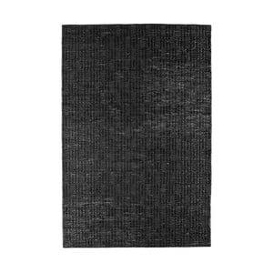 Čierny koberec z juty De Eekhoorn Scenes, 240×170cm
