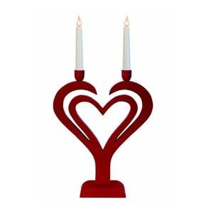 Svietiaca dekorácia Best Season Red Heart