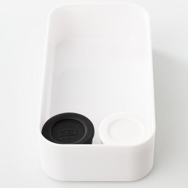 Sada bielej a čiernej nádoby na omáčku Monbento