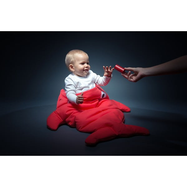 Detský vak na spanie Red Polka Dot, vhodné i na teplé dni
