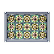Vinylový koberec Daima Green, 52x140 cm