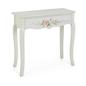 Konzolový stolík so zásuvkou Bizzotto Bloomy