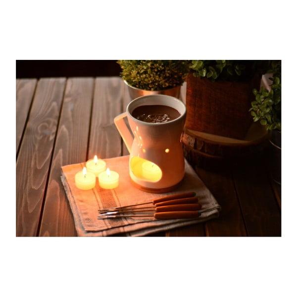 Porcelánový set na prípravu fondue Bambum Telle