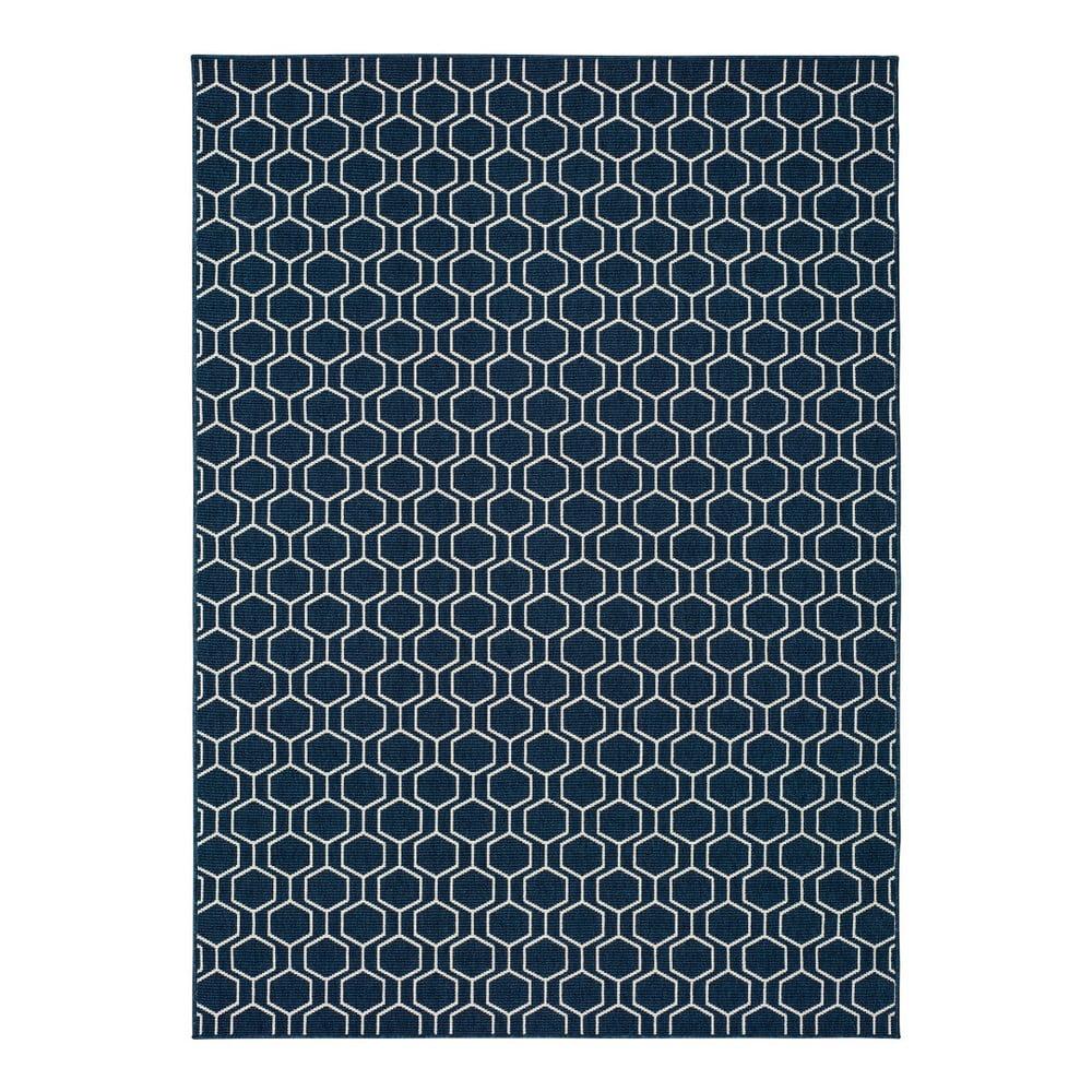 Modrý vonkajší koberec Universal Clhoe, 120 x 170 cm