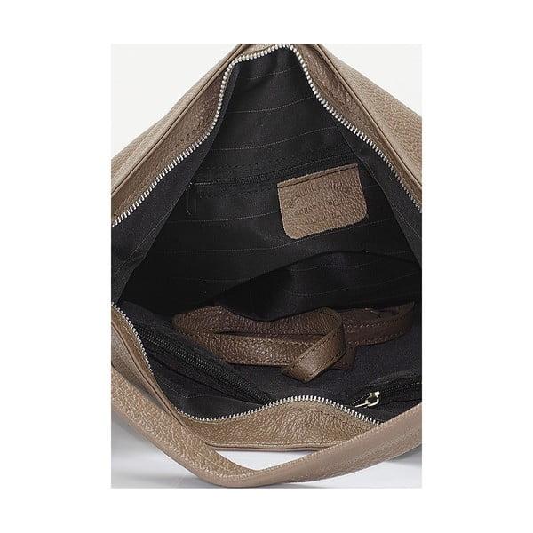 Kožená kabelka Giorgio Costa 15026 Fango