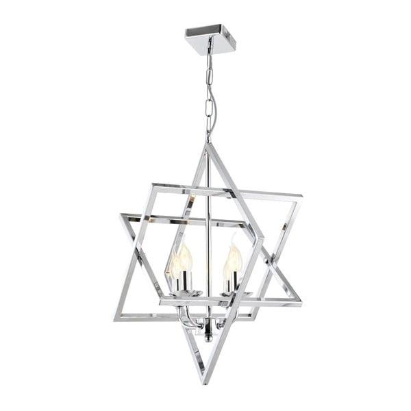 Závesné svietidlo v striebornej farbe Avoni Lighting Étoile