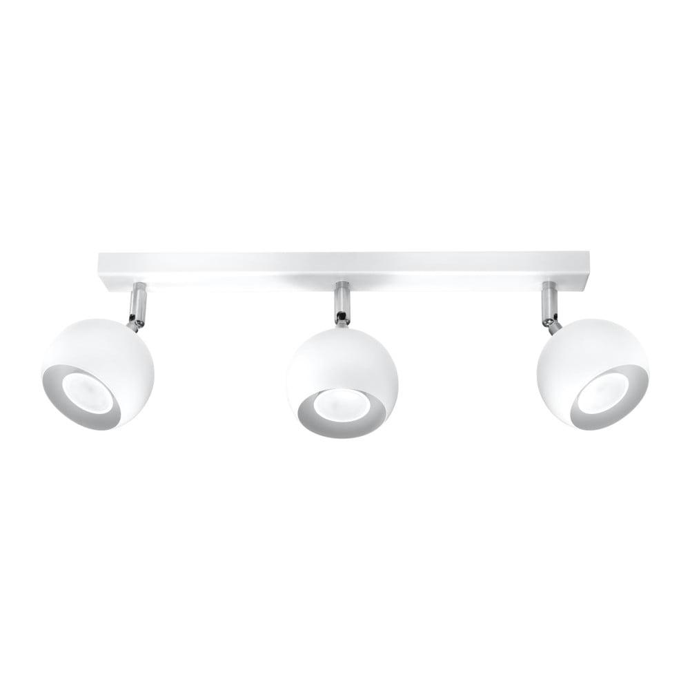 Biele stropné svietidlo Nice Lamps Ollo Tres