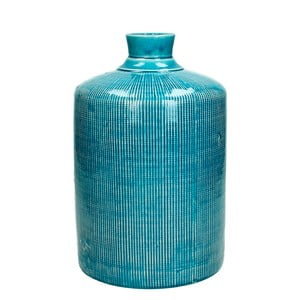 Modrá keramická váza HF Living Azuro Samantha