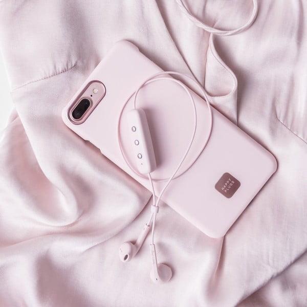 Ružový ochranný kryt na telefón pre iPhone 7 a 8 Plus Happy Plugs Slim
