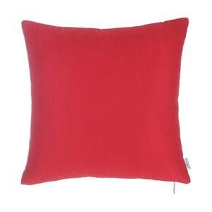 Červená obliečka na vankúš Apolena Simple, 43 x 43 cm