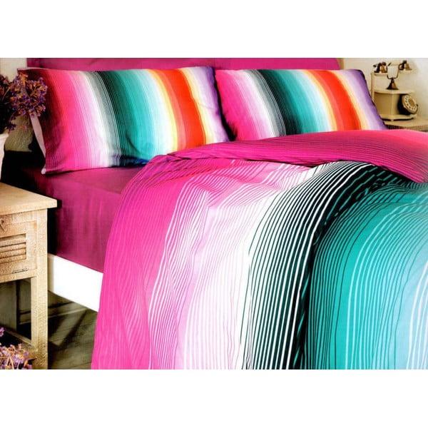 Obliečky s plachtou Rainbow, 160x220cm