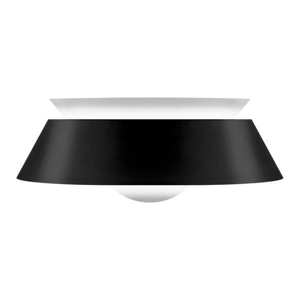 Čierne stropné tienidlo VITA Copenhagen Cuna, Ø38 cm