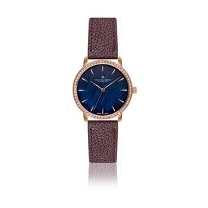 Dámske hodinky s vínovým remienkom z pravej kože Frederic Graff Lismo