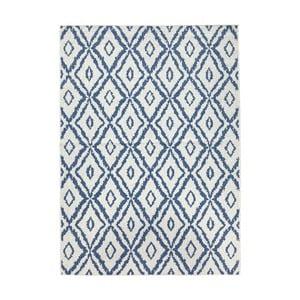 Modro-biely obojstranný koberec Bougari Rio, 120 x 170 cm
