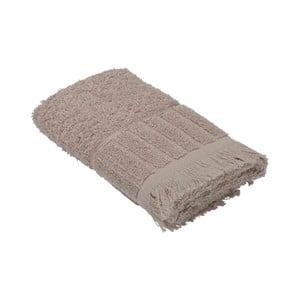 Béžový bavlnený uterák Bella Maison Smooth, 50×90 cm