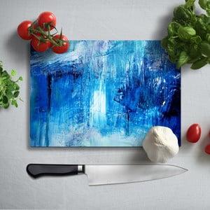 Farebná doska na krájanie z tvrdeného skla Insigne Mulerto, 35 × 25 cm