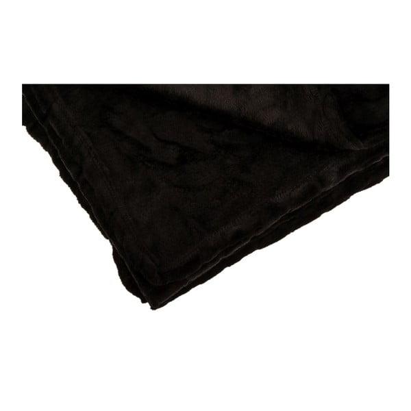 Pléd Softy Noir, 125x150 cm