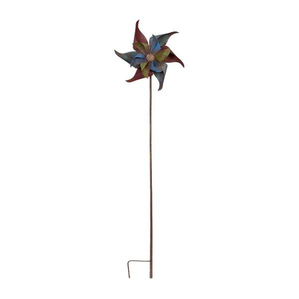 Zapichovací veterník na záhradu Wind, 142 cm