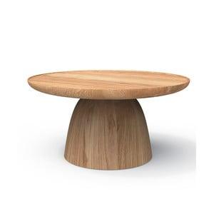 Odkladací stolík z masívneho dubového dreva Javorina Hrib 70