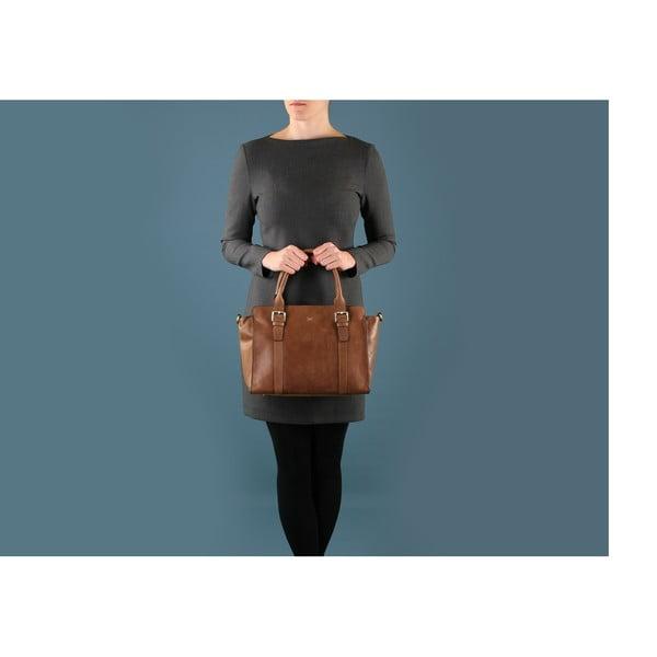 Dámska kožená kabelka Amelia Vintage Butterscotch
