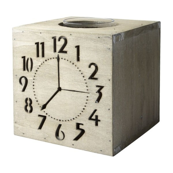 Svietnik Wood Clocks, 17x15 cm