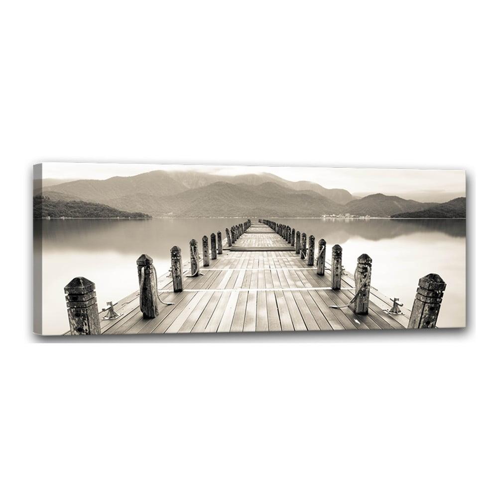 Obraz Styler Canvas Harmony Molo, 60 × 150 cm