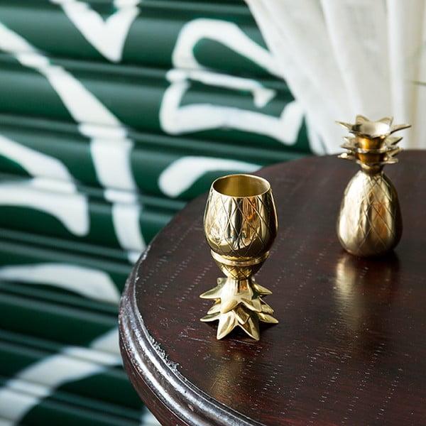 Sada 2 kalíškov v zlatej farbe W&P Design Pineapple