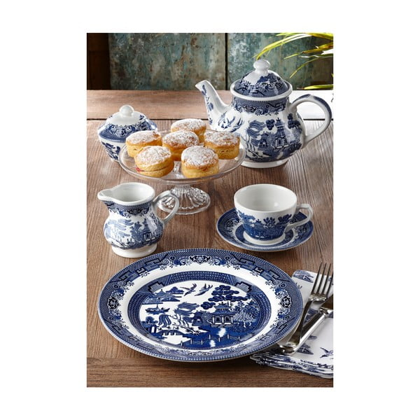 Tanier Churchill China Blue Willow, 26 cm