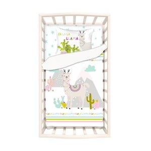 Detské bavlnené obliečky s plachtou na jednolôžko Apolena Mirra Duro, 100 x 150 cm
