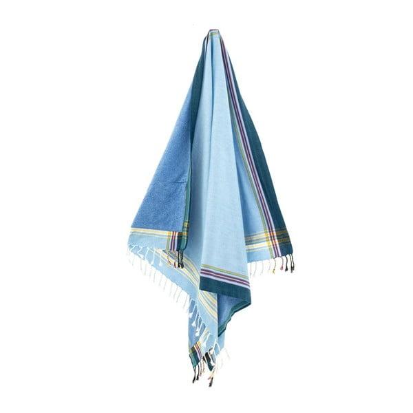 Osuška Banu Blue, 100x178 cm