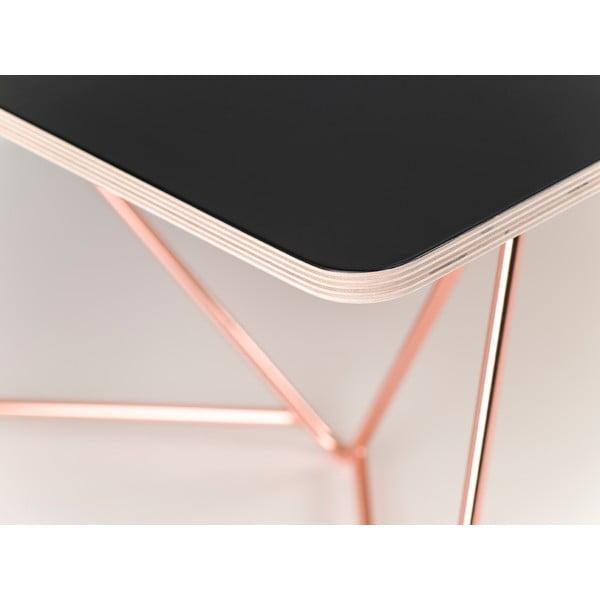 Doska ku kávovému stolíku Coffee Black, 110x70 cm