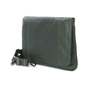 Zelená taška na rameno z talianskej kože Tucano One
