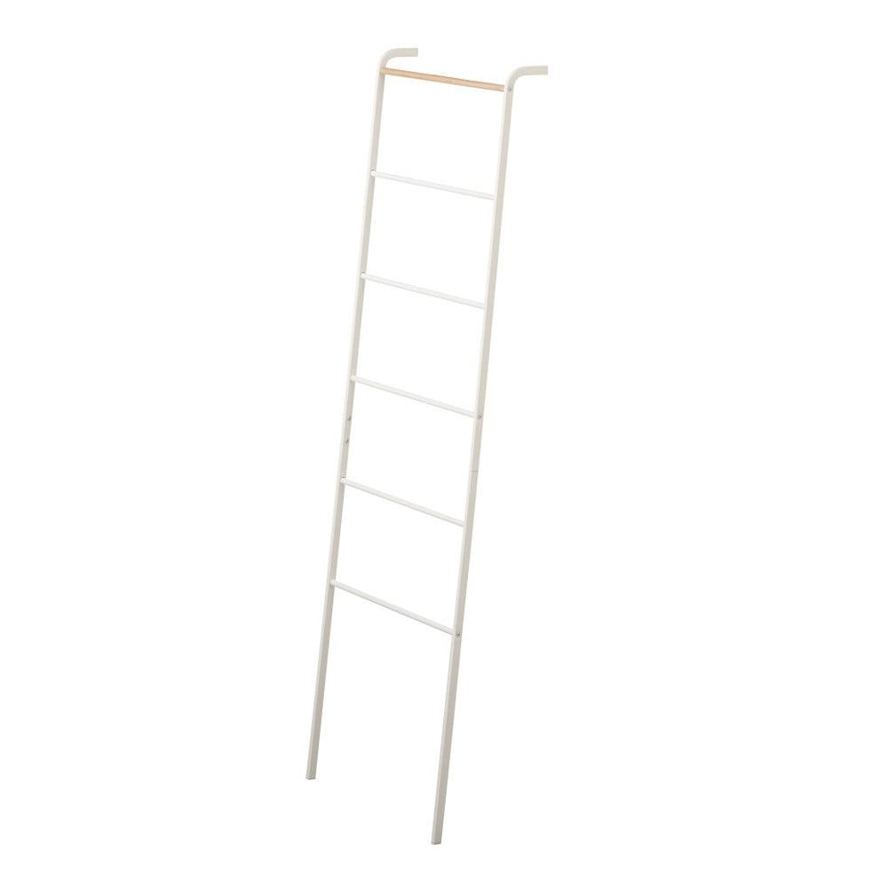 Biely dekoratívny rebrík YAMAZAKI Tower Ladder