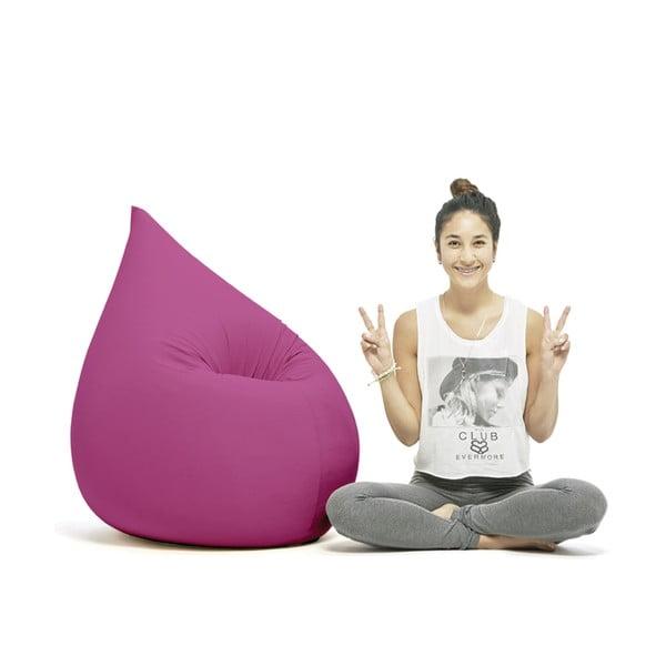 Ružový sedací vak Terapy Elly