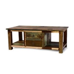 Stolík z teakového dreva Goa, 120x63 cm