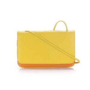 Listová kabelka Flap Yellow