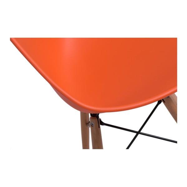 Sada 2 stoličiek D2 Rush DWS, oranžové