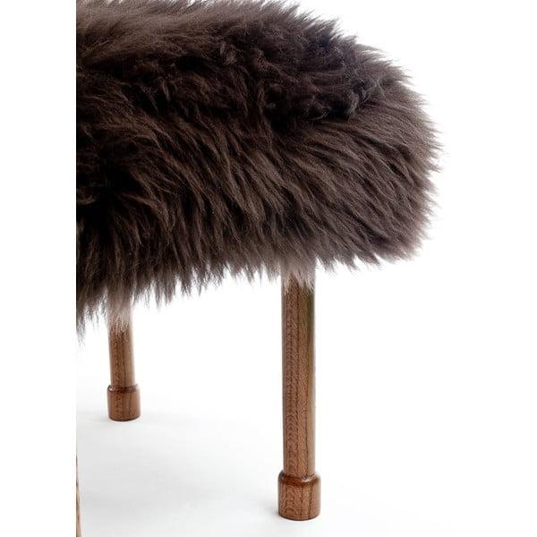Stolička z ovčej kože MyfanwyMink