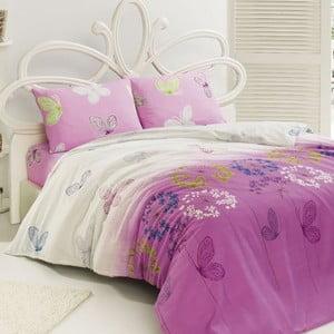 Obliečky Kelebek Pink, 240x220 cm